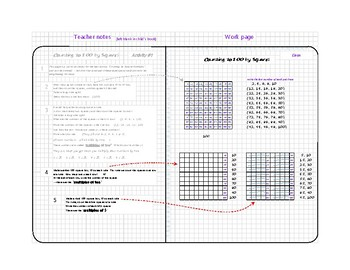 Gridbook Math: Counting by Squares/ Square Numbers