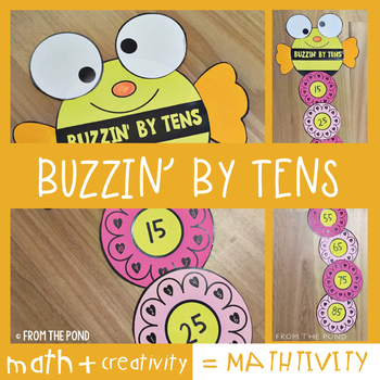 Counting by Tens Fun Craft Project