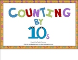 Counting by Tens Activity Set for Smart Board