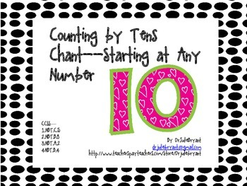 Counting by Tens Chant