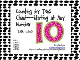 Counting by Tens Chant Task Cards