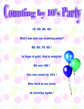 Counting by Ten's Party