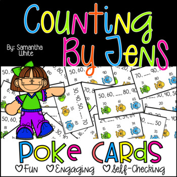 Counting by Tens {Poke Cards}
