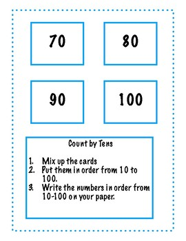Counting by Tens pack