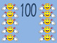 Counting by tens to 100 Whiteboard resources and printables