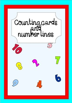 Counting cards and number lines