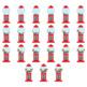 Counting clip art: Gumball machine