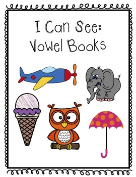 Color and Counting: I can see vowel books