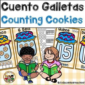 Counting cookies- Cuento galletas