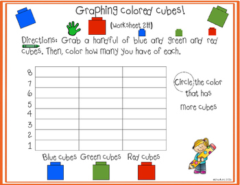 Counting cubes: graphing (differentiated)