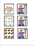 Counting farm animals file folder activity