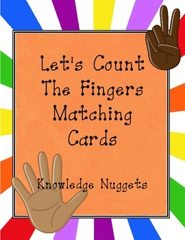 Counting Fingers Matching Cards