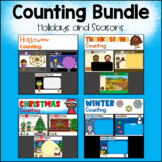 Counting for Google Slides (TM) - Holidays and Seasons