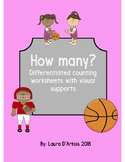 Counting for Special Education: Sports