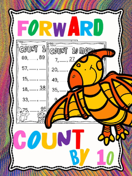 Counting forward  by 10