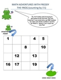 Learning how to Count forwards and backwards by 1's, 2's,