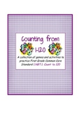 Counting from 1 to 120 - First Grade Common Core Standards Activities