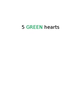 Counting hearts book