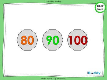 Counting in 10s to 100