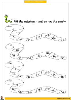 Counting in 2s, 5s and 10s