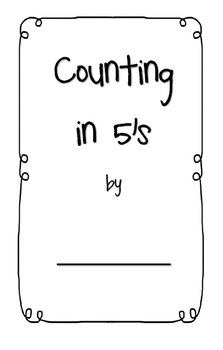 Counting in 5s activity booklet