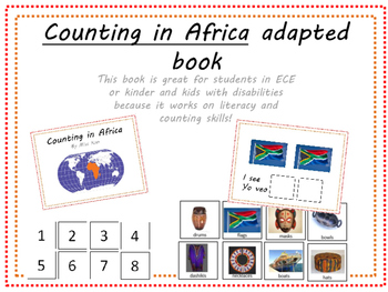 Counting in Africa adapted book