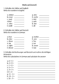 Counting in German