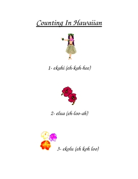 Counting in Hawaiian