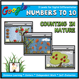 Counting in Nature Numbers 1-10 Interactive Math Digital G