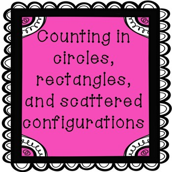 Counting in Rectangles, Circles, and Random Configurations- Kindergarten