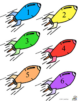 Counting in Space:  Numbers, Number Words, Counting to 20