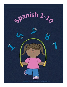 Counting in Spanish 1 through 10