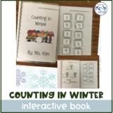 Counting in Winter Interactive Book Autism, Special Education