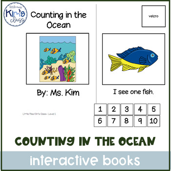 Counting in the Ocean Interactive Book for Special Needs
