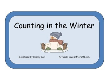 Counting in the Winter: Story Problem Cards for a Math Center