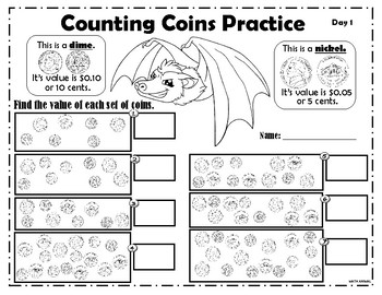 Counting nickels and dimes
