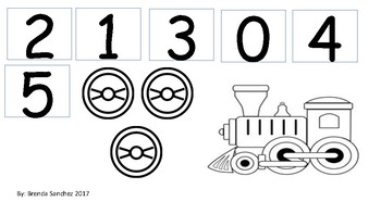 Counting numbers 0-5