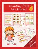 Counting numbers worksheets (1-20)