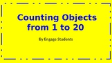Counting objects to 20