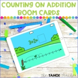 Counting on Addition Boom Cards | Digital Math Centers