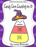Counting on Candy Corn - Counting on by 10