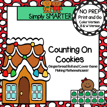 Counting on Cookies:  NO PREP Gingerbread Roll and Cover T