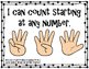 Counting on Crayons Match