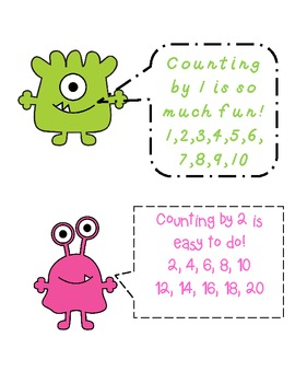 Counting on Monsters