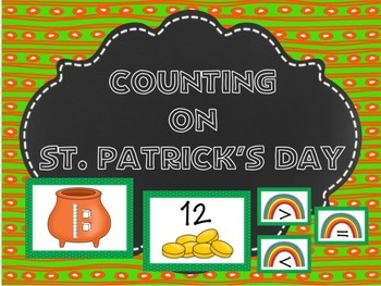 Counting on St. Patrick's Day Matching Activity