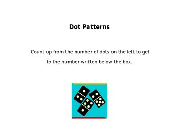 Counting on Using Dominoes