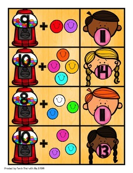 Counting on With Gumballs