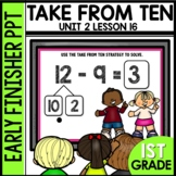 Early Finishers Activities | Counting on or take from ten
