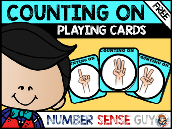 Counting on playing cards