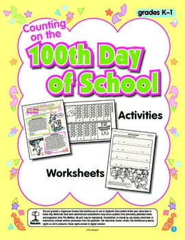 Counting on the 100th Day of School (Grs. K-1)